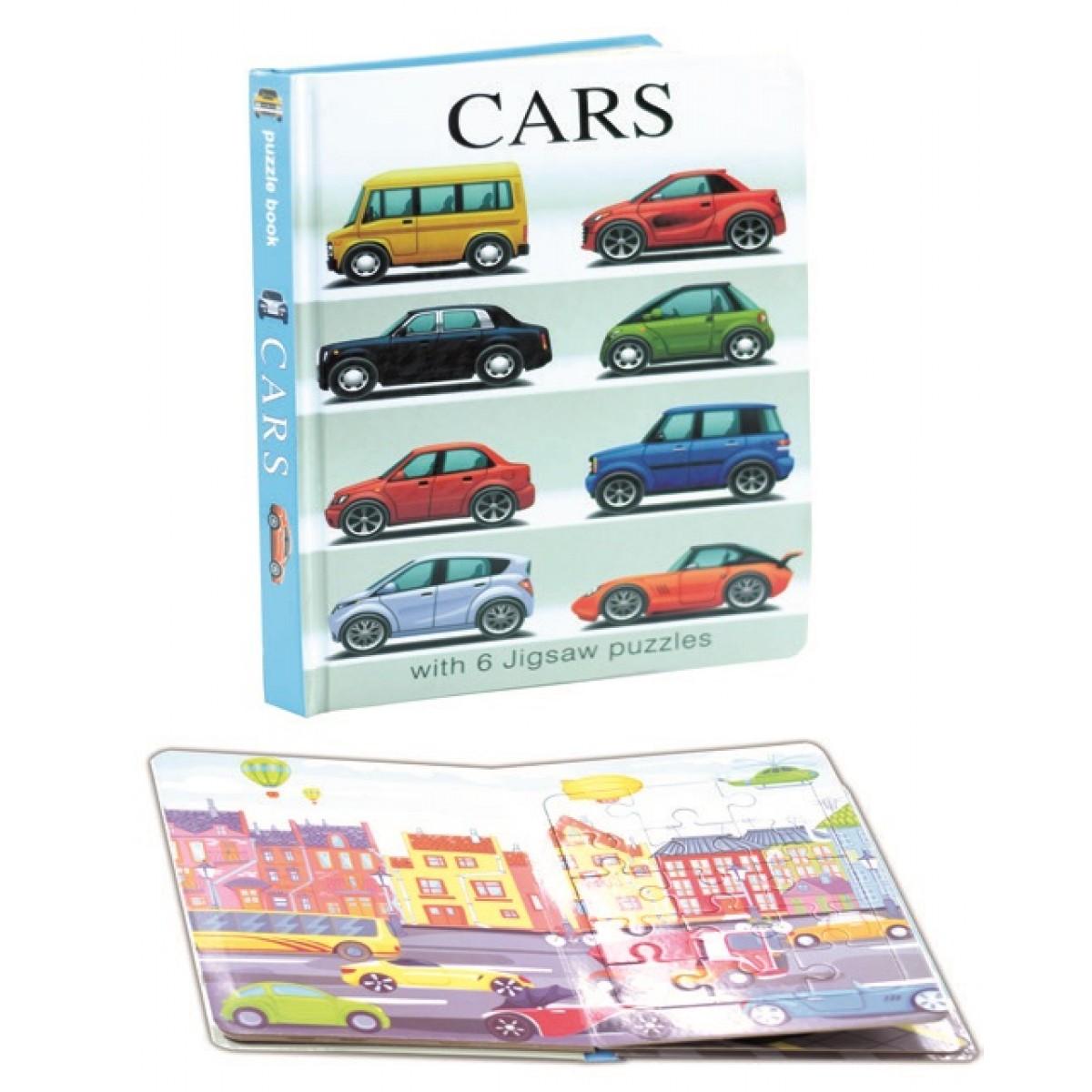"""كتاب بزل كرتوني  """"  السيارات - CARS """""""