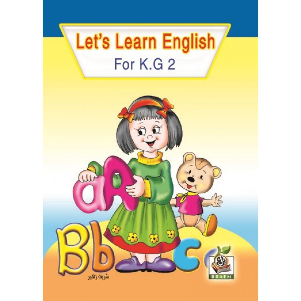 Let s Learn English  مستوى  K.G.2