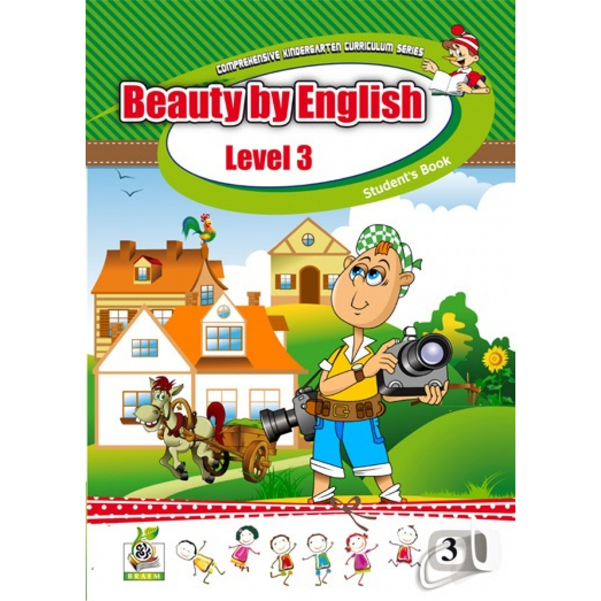 Beauty by English Student s Book Level 3 مستوى  K.G.3