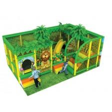 وحدة الألعاب الداخلية الغابة الأرضيات تباع منفصلة مقاس 6*4*2.5متر
