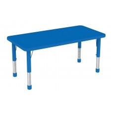 طاولة مستطيلة متعددة المستويات خشب 120*60*37-62 سم