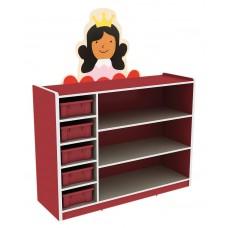 لوح تزين وحدات التخزين و الجدار الأميرة - 78* 62* 9 سم