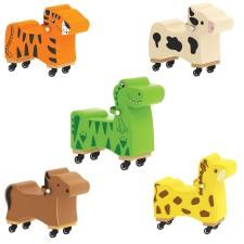 مجموعة عربات الحيوانات المتحركة 5 قطع 50*48*20سم